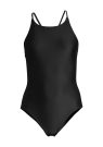 Casall Crossback Swimsuit Black