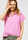 Street One Ltd QR Solid Shirtcollarblouse Pearl Rose