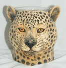 Quail Ceramics Leopard Pencil Pot