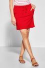 Street One Happy L48 Jog Skirt Uni Vivid Red