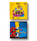 Happy Socks The Beatles Socks Box Set 36-40