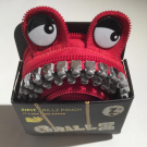 ZIPIT Grillz Monster Pouch Red
