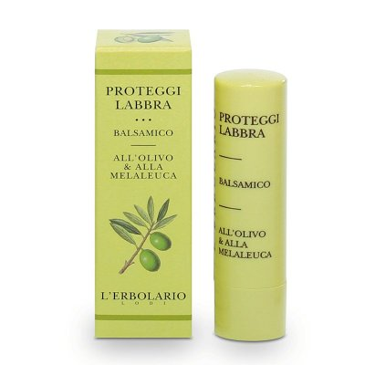 L'Erbolario Läppbalsam Oliv & Tea Tree 4,5 ml