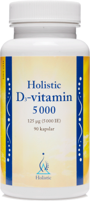 Holistic D3-vitamin 5000ie 90k