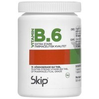 Skip Vitamin B6 25 mg 75 tabl