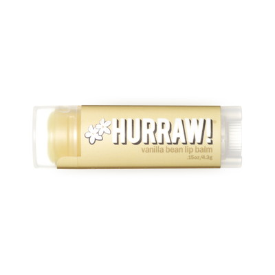 Hurraw Vanilla Bean Lip Balm 4,3g