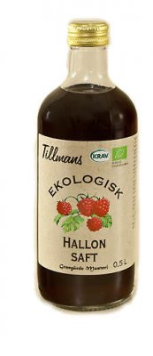 Tillmans Hallonsaft 0,5l
