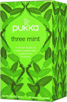Pukka Te Three Mint EKO, 20 påsar