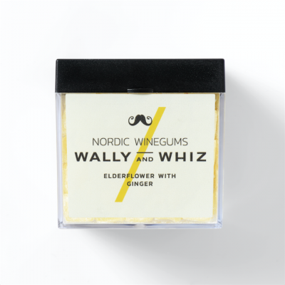 Wally and Whiz Elderflower with Ginger 140g