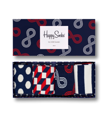 Happy Socks Eternity Gift Box strl 36-40