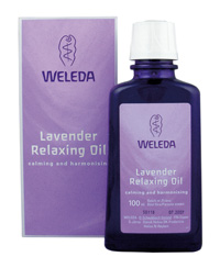 Weleda Lavender Relaxing Oil 100ml
