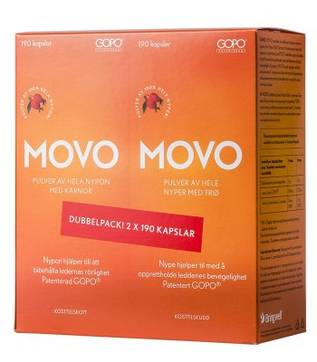 MOVO 2x190k Dubbelpack