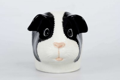 Quail Ceramics Guinea Pig Face Egg Cup Tri Colours