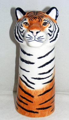 Quail Ceramics Tiger Flower Vase Large