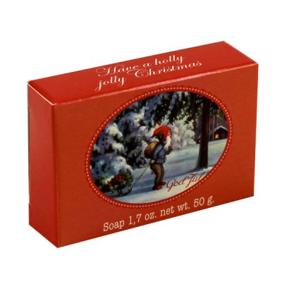 Victoria Soap God Jul Tvål Have a Holly Jolly Christmas 50g