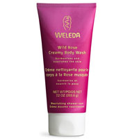 Weleda Wildrose Creamy Body Wash, 200ml